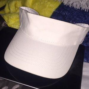 White visor